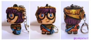 Lucca Keychain by Gravitywheel