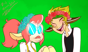 Flower Crowns by SpaceyJessi