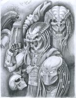 My Predator Group by BlkBullet23