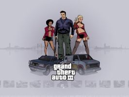 GTA 3 Panorama by redfill