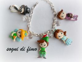 FIMO  peter pan by SogniDiFimoCReazioni