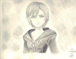 Kingdom Hearts: Xion by Kurogane7856