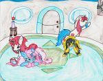 TFPPonies:Randomness of 3 Unicorns + an Earth Pony by SevenSelves3Flowers