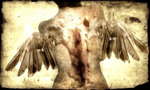 Angel of decay by stele