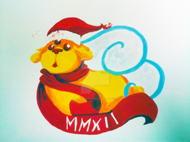 Christmas '12: have a pup by VioletLolita