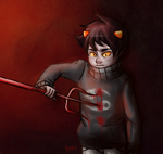 Homestuck: Bloody Hell! by Morisaurus