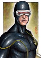 Cyclops - X-Men Sketch Card by J-Redd