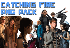 Catching fire PNG PACK by PaulaML