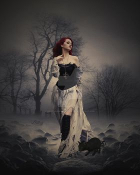 .:She Comes with Darkness:. by BrittanyBlackrainbow