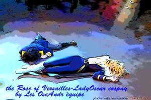 Oscar e Andre the rose of versailles by OFdJ