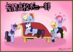 Ouran Highschool Pony Club by EllyGirl2809