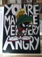 Marvin the martian by WarioRage