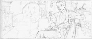 Sherlock Holmes Noir - preview by closetvictorian