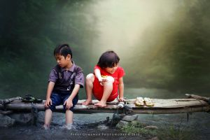 Children Of The Sleepless Creek by perigunawan