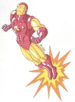 Classic Iron Man by RobertMacQuarrie1