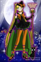 Sailor Moon's Halloween costume. by CartoonPrincess15