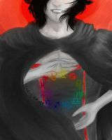 Homestuck - The Sufferer by xEtherealAurorax