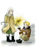 APH Ivan and Alfred by MaryIL