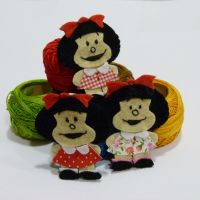 Broches de Mafalda by Conhiloytelas