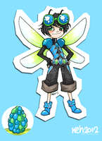 Dragonfly Boy - for Chenria by tea-bug
