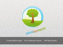 save-our-earth-wallpaper-set by AreoX