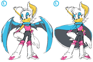 Rouge Redesign by stevenart1988