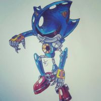 Behold the Metal Sonic  by Opadeus