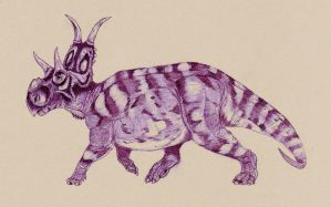 Diabloceratops by Kahless28