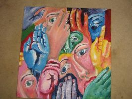 Hands and Faces by HAHAHAigotyou33