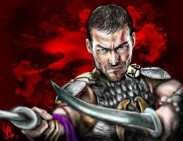 Spartacus Blood And Sand by Vinnyjohn13