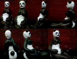 Panda Girl Figure 1 Complete by SpaceRanger108