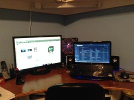 Current Setup - April 2015 (Cause Why Not?) by dAKirby309