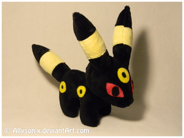 Umbreon Mini-Minky Plush by Allyson-x