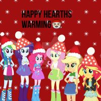 Happy hearths warming from MLPEQG by Gouhlsrule