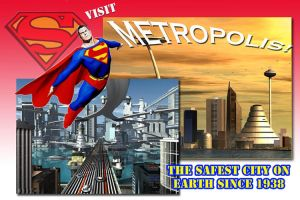 Metropolis postcard... by RobotLaundry