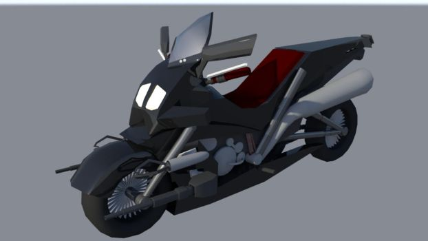 Espionage Motorcycle (Maya) by dragongirl117