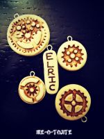 More Faux Ivory Charms by Me-O-Tojite