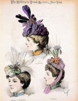 The Millinery Trade Review by HauntingVisionsStock