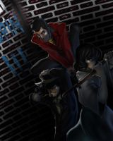 Lupin the Third by Zinfer