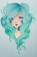 .:Mermaid-Gift Art:. by Ctykty
