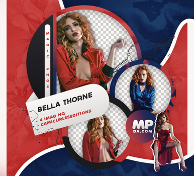 PACK PNG 788| BELLA THORNE by MAGIC-PNGS