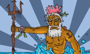 Poseidon Here, God of the Sea