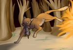 :FAN: Through The Flames by Grin-Hound