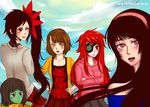 Tower of God Girls by kurokuni