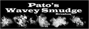 Pato's Wavey Smudge Brushes by pato92