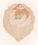 stoick and a bean by Lexaii