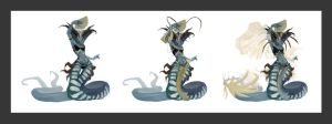 Naga Dancer Variations by ApplePoo