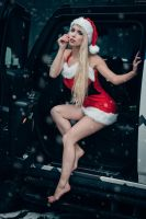 Santa Claudia is ready to deliver your gifts... by gb62da