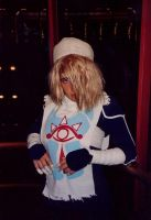Sheik - trying to look cool by crimsontriforce