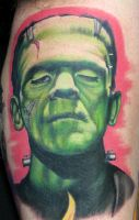 Frankenstein by natebeavers